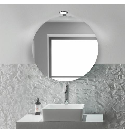 Espejo redondo con luces...