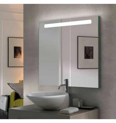 Espejo rectangular con luz...