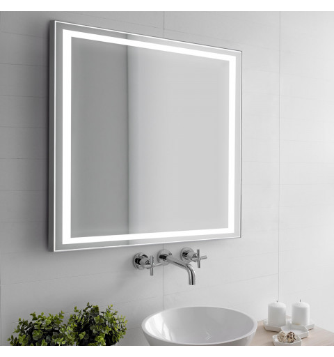 Espejo con luz LED...