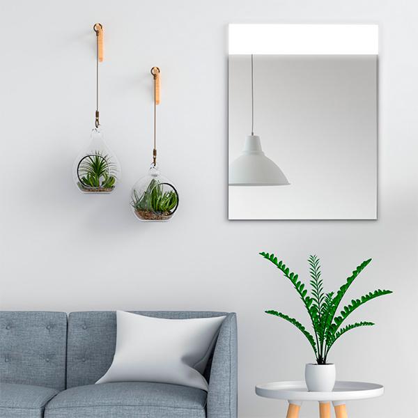 Espejos led como elemento decorativo